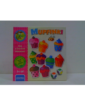 granna Muffinki Gram ze Smokiem Obibokiem 00361