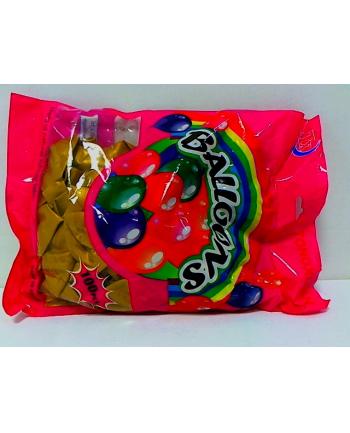 midex Balony złote 100szt/kpl 0154F 18214