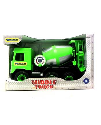 WADER Middle Truck betoniarka zielona 32104