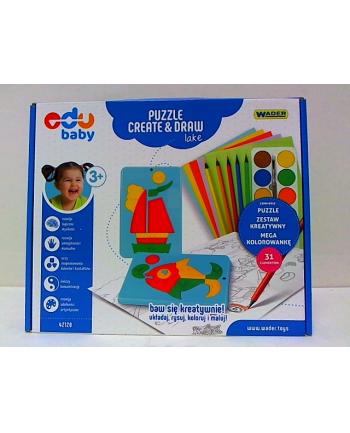WADER puzzle creat&draw - jezioro 42120
