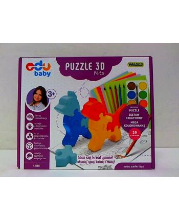 WADER puzzle zoo 3D pets 42160