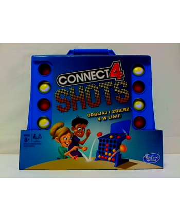 hasbro Gra CONNECT 4 SHOTS E3578 /4