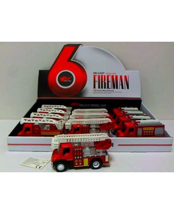 hipo Wóz strażacki z dźwiękiem 13cm HXFC64