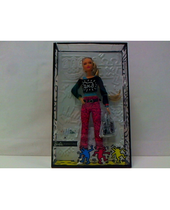 mattel Barbie lalka kolekcjonerska Keith Haring FXD87