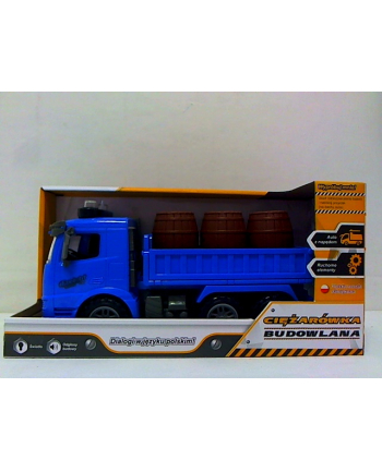 swede Ciężarówka z beczkami z polskim głosem Q4916 48493