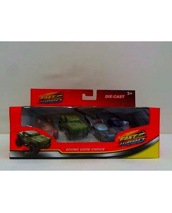 tasso Samochody metalowe 4szt SA666-19 08087