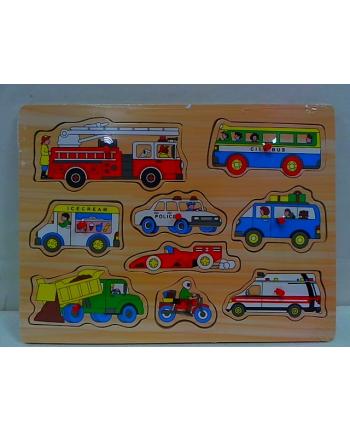 anek - chiny Układanka drewniana Pojazdy 92-B0155Y 22897