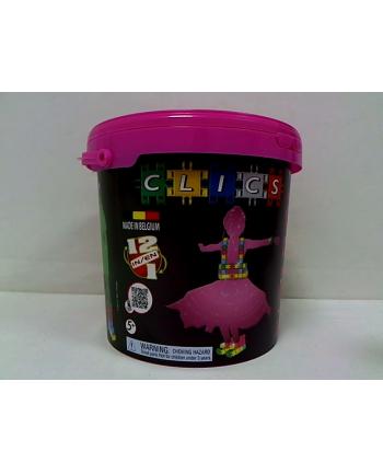 clicformers - klocki CLICS Wiadro Fasion - Glitter CD005 01538