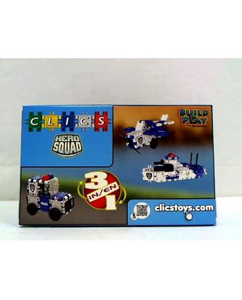 clicformers - klocki CLICS Box mały - Policja RC051 01590
