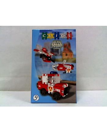 clicformers - klocki CLICS Box mały - Straż Pożarna RC052 02061