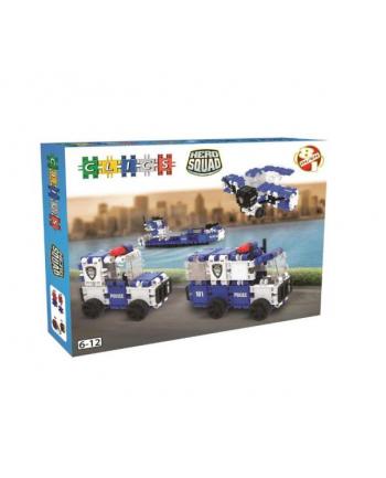 clicformers - klocki CLICS Box duży - Policja BC006 05758