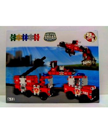 clicformers - klocki CLICS Box duży - Straż Pożarna BC007 05772