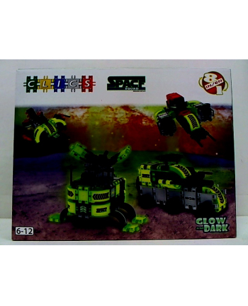 clicformers - klocki CLICS Box duży - Space BC008 05796