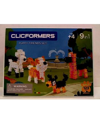 clicformers - klocki CLICS Clicformers Pet friend set 123el 35766