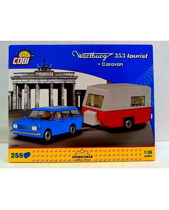 COBI CARS Wartburg 353 Tourist+Caravan 255kl 24592