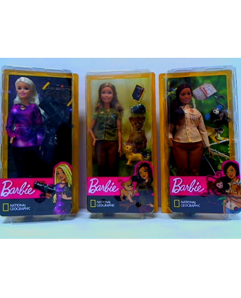 mattel Barbie lalka National Geographic 3 rodz. GDM44 /6