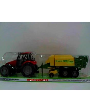pegaz Traktor wielki z prasą 62643
