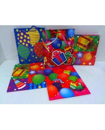 rozette Torebka Lux brokat A4duża dziec.Balony 65141