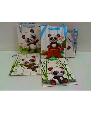 rozette Torebka Lux 210gsm dziec.Panda średnia A5 65370