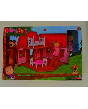 simba Masza i Niedźwiedź 2-poziomowy dom Maszy 930-1038