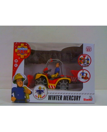 simba Strażak Sam śniezny quad Merkury+ figurka 925-1049