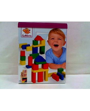 simba EH klocki drewniane kolorowe 50 el. 50161