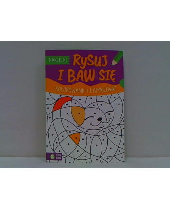 zielonasowa Rysuj i baw się Kolorowanki i łamigłówki 58.11.1