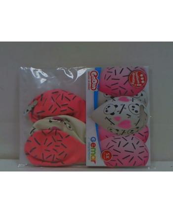 godan Balony Premium Hel Panda i Serca 13'' /5 GS120/PDS