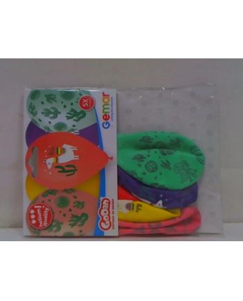 godan Balony Premium Hel Lama i Kaktusy 13'' /5 GS120/LIK