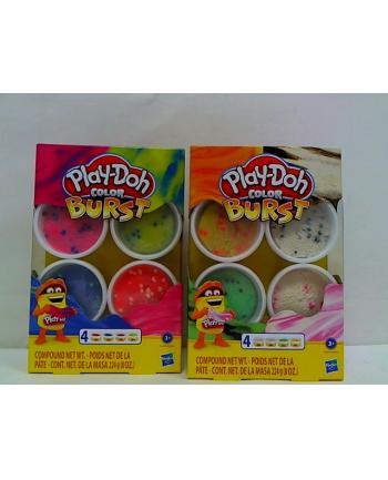 hasbro PLD ciastolina 4-pak Burst Color E6966 /8