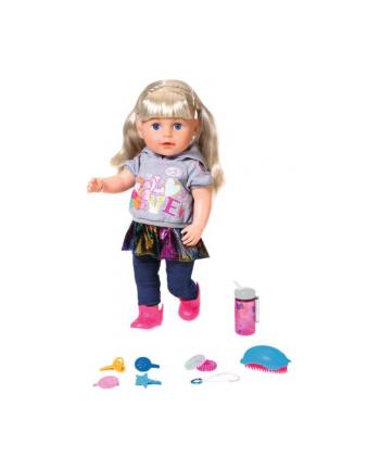 zapf creation BABY born® Lalka interaktywna siostrzyczka (blondynka) p4 824603