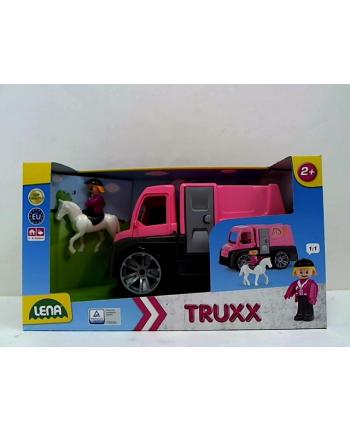 LENA Auto Truxx z koniem róż 04458 69909