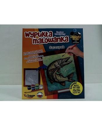 Mirage Ryba Szczupak wypukła malowanka 61101