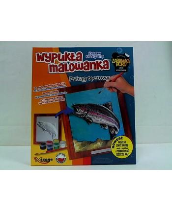 Mirage Ryba Pstrąg Tęczowy wypukła malowanka 61108