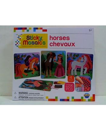 pipistrello Wyklejane mozaiki konie 50993