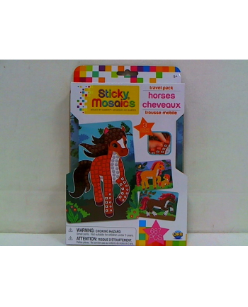 pipistrello Wyklejane mini mozaiki konie 51037