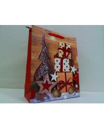 rozette Torebka Lux brokat A4duża świąteczna set4 59423