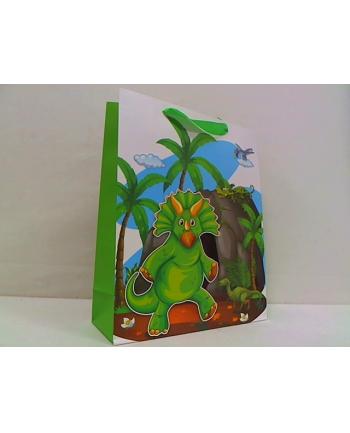rozette Torebka Lux brokat A4duża dziec.Dino-Dino 65684