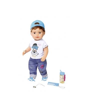 zapf creation BABY born® Lalka Interaktywna braciszek