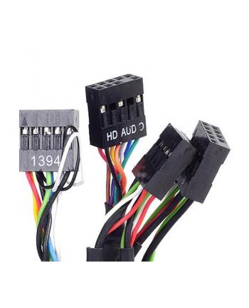 Silverstone SST-FP32B 5-Ports 3.5'' Device Adapter USB 2.0, black