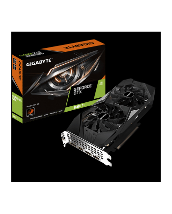 Gigabyte GeForce GTX 1660 Ti WINDFORCE 6G, 6GB GDDR6, 3xDP, HDMI