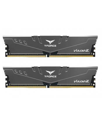 Team Group Vulcan Z Pamięć DDR4 32GB (2x16GB) 3000MHz CL16 1.35V XMP 2.0 szara