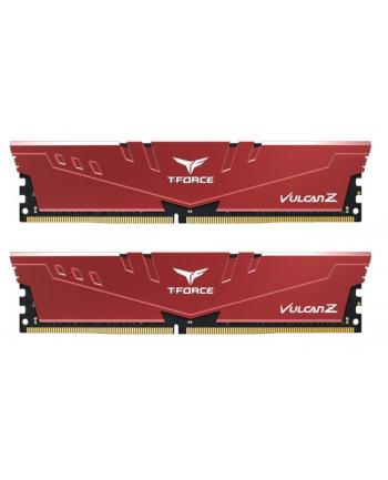 Team Group Vulcan Z Pamięć DDR4 32GB (2x16GB) 3000MHz CL16 1.35V XMP2.0 czerwona