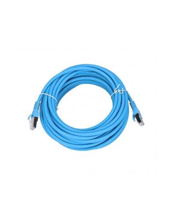 extralink Kabel sieciowy LAN Patchcord CAT.6A S/FTP 10m 10G foliowana skręcana para, miedziany