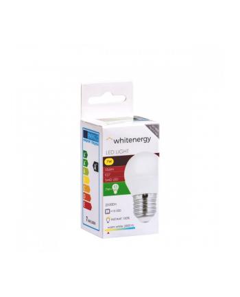 whitenergy Żarówka LED 10szt. 8xsmd2835 g45 e27 7w 556lm ciepła  biała mleczna