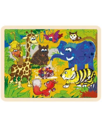 brimarex Top Bright Puzzle drewniane Dżugnla 35el. BRIAMREX