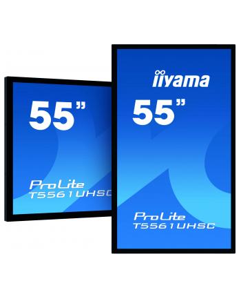 iiyama Monitor 55 TF5561UHSC-B1 pojemnościowy 40pkt 24/7 IP65 4K AF