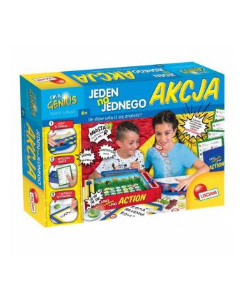 lisciani giochi I'm a Genius Jeden na jednego Akcja! 68623 LISCIANI