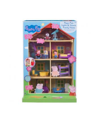 tm toys Peppa Dom rodzinny ze światłem i dźwiękiem 00542