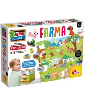 lisciani giochi Montessori Puzzle MAXI Moja farma 72484 LISCIANI